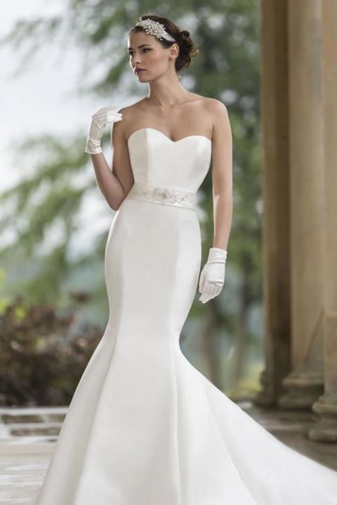 Váy cưới đuôi cá trơn tôn dáng