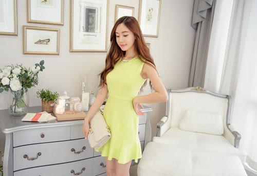 Váy đuôi cá là kiểu váy hè 2015 được nhiều chị em yêu thích