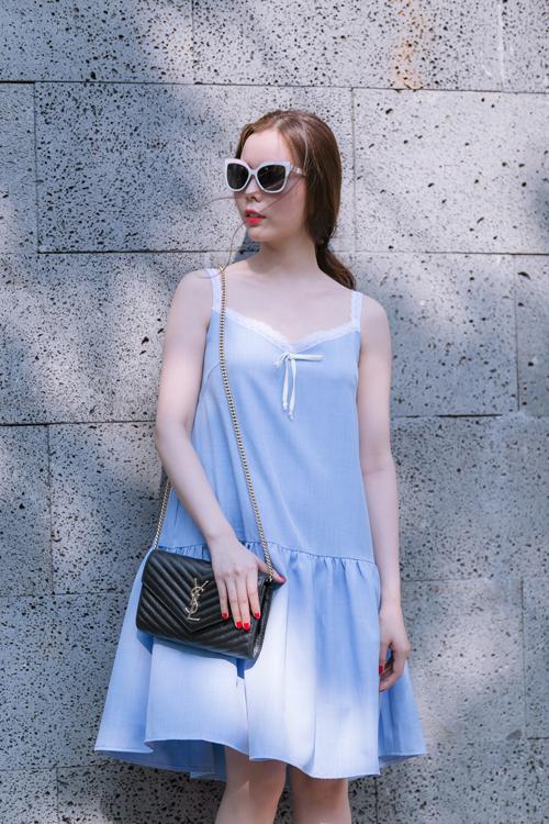 Váy đuôi cá hạ eo dáng rộng sành điệu, cá tính