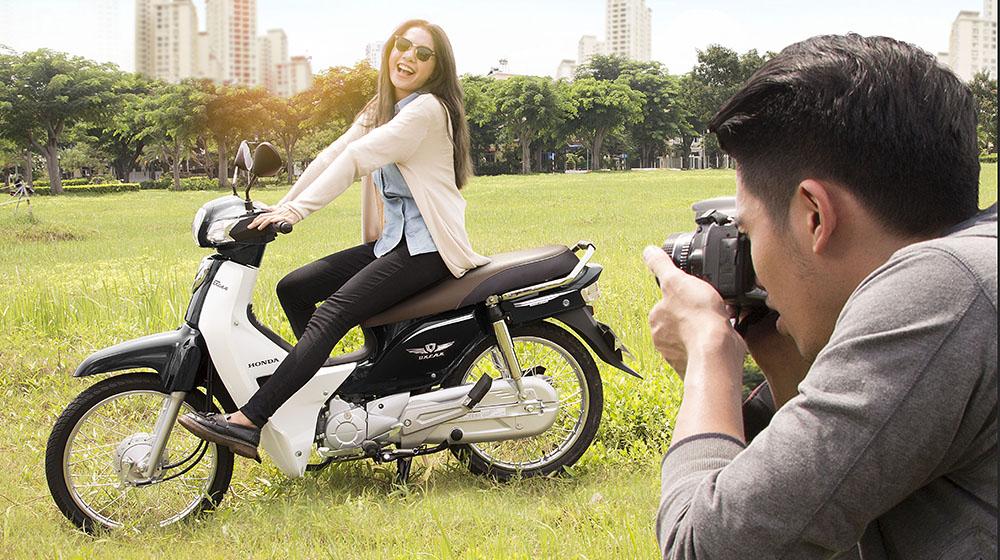 Honda Việt Nam đã chính thức giới thiệu Super Dream 110 với phong cách hoàn toàn mới