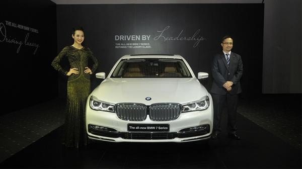 Xe BMW 740Li 2016 gây ấn tượng mạnh với thiết kế tinh tế