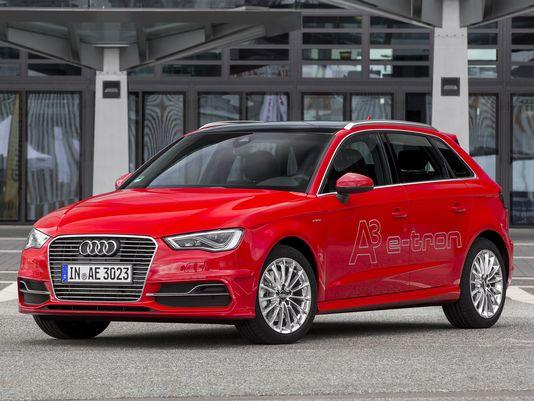Hình ảnh mẫu xe ô tô điện A3 mới của Audi