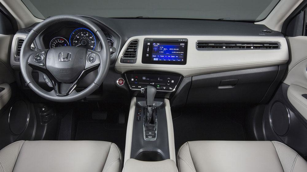 Honda HR-V 2015 có hai phiên bản động cơ dung tích 1.5 và 1.8 lit DOHC I-4