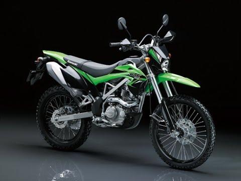 Kawasaki KLX150 có một số thay đổi đáng chú ý ở ngoại hình
