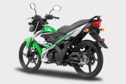 Đáng chú ý nhất trong ba bản Kawasaki KLX150 là bản đặc biệt KLX150BF SE
