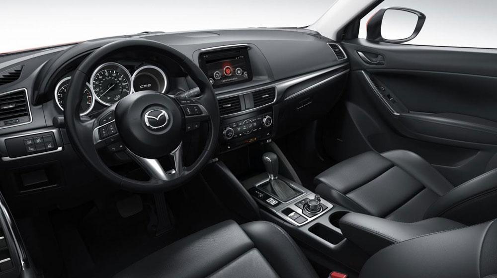 Nội thất của Mazda CX-5 trở nên thực dụng và hiện đại hơn