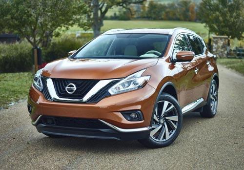 Nissan Murano 2015 hứa hẹn sẽ trở lại ấn tượng trong thị trường crossover