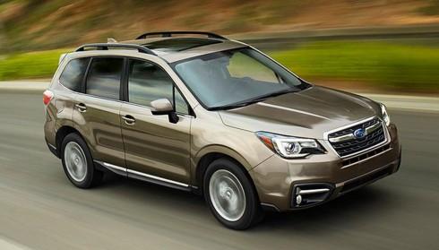 Xe Subaru Forester 2017 thay đổi chủ yếu ở nội thất