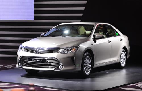 Xe Toyota Camry thế hệ mới có thiết kế trẻ trung
