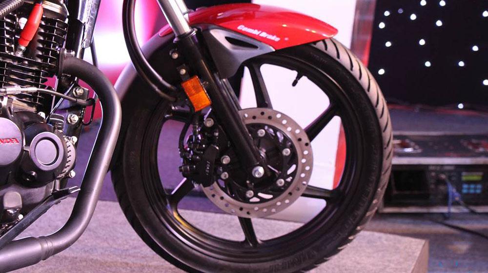 Trái tim của mẫu xe máy mới CB Unicorn 160 là động cơ xi-lanh đơn, dung tích 163 cc