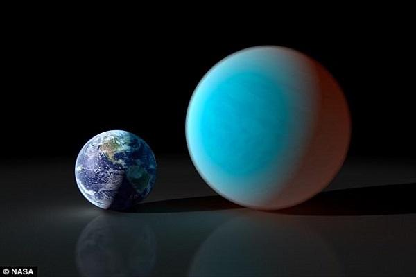 Những hành tinh càng lớn thì lực hấp dẫn càng mạnh. Ảnh: NASA