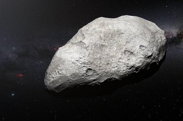 """Tiểu hành tinh cổ """"lưu vong"""" quanh sao Hải Vương. Ảnh: Phys."""
