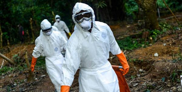Dịch bệnh Ebola đang hoành hành ở Congo. Ảnh: dailystar
