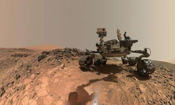 Sao Hỏa có thể tồn tại oxy đủ để các sinh vật tồn tại. Ảnh: Phys