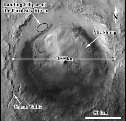 Hình ảnh được các nhà khoa học thể hiện trong bản đồ HiRISE. Hình ảnh: Hiệp hội địa chất Mỹ