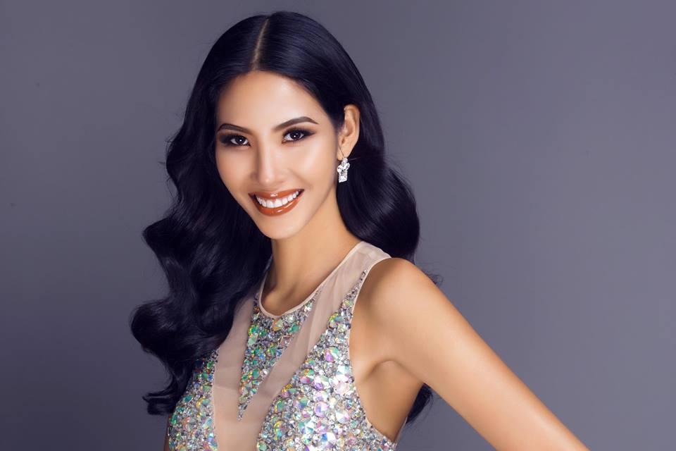 Lộ clip Hoàng Thùy ngã khuỵ trên sân khấu chung kết Hoa hậu Hoàn vũ