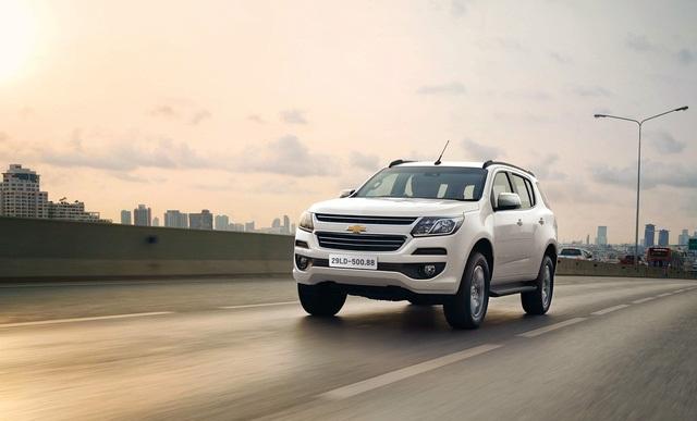 Ô tô 7 chỗ đầu tiên của Chevrolet Trailblazer chuẩn bị bán tại thị trường Việt có gì hay?