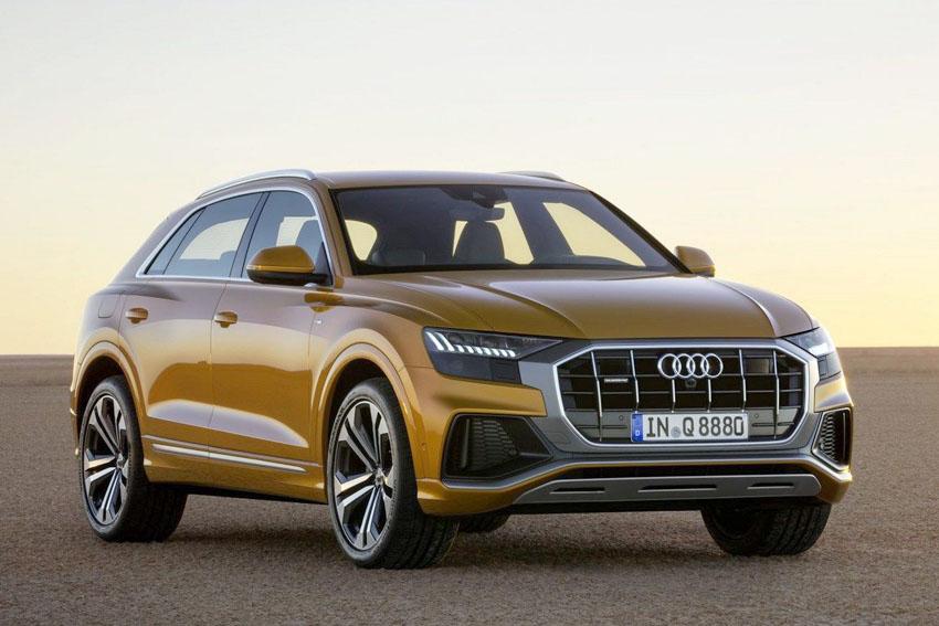 Audi chính thức ra mắt SUV lai coupe cỡ lớn Q8 hoàn toàn mới
