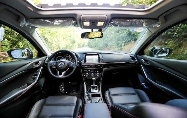 Mazda 6 2018 đẹp 'long lanh', động cơ mạnh mẽ đang được bán tại thị trường Anh