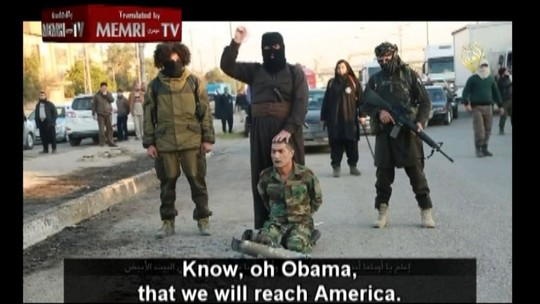 Khủng bố IS tung video đe dọa chặt đầu Tổng thống Obama