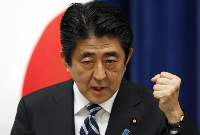 Thủ tướng Nhật Bản Shinzo Abe thề sẽ không bao giờ chịu khuất phục trước chủ nghĩa khủng bố