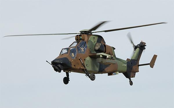 'Con hổ biết bay của châu Âu' - trực thăng tấn công Eurocopter Tiger là một trong những vũ khí hiện đại của quân đội Đức