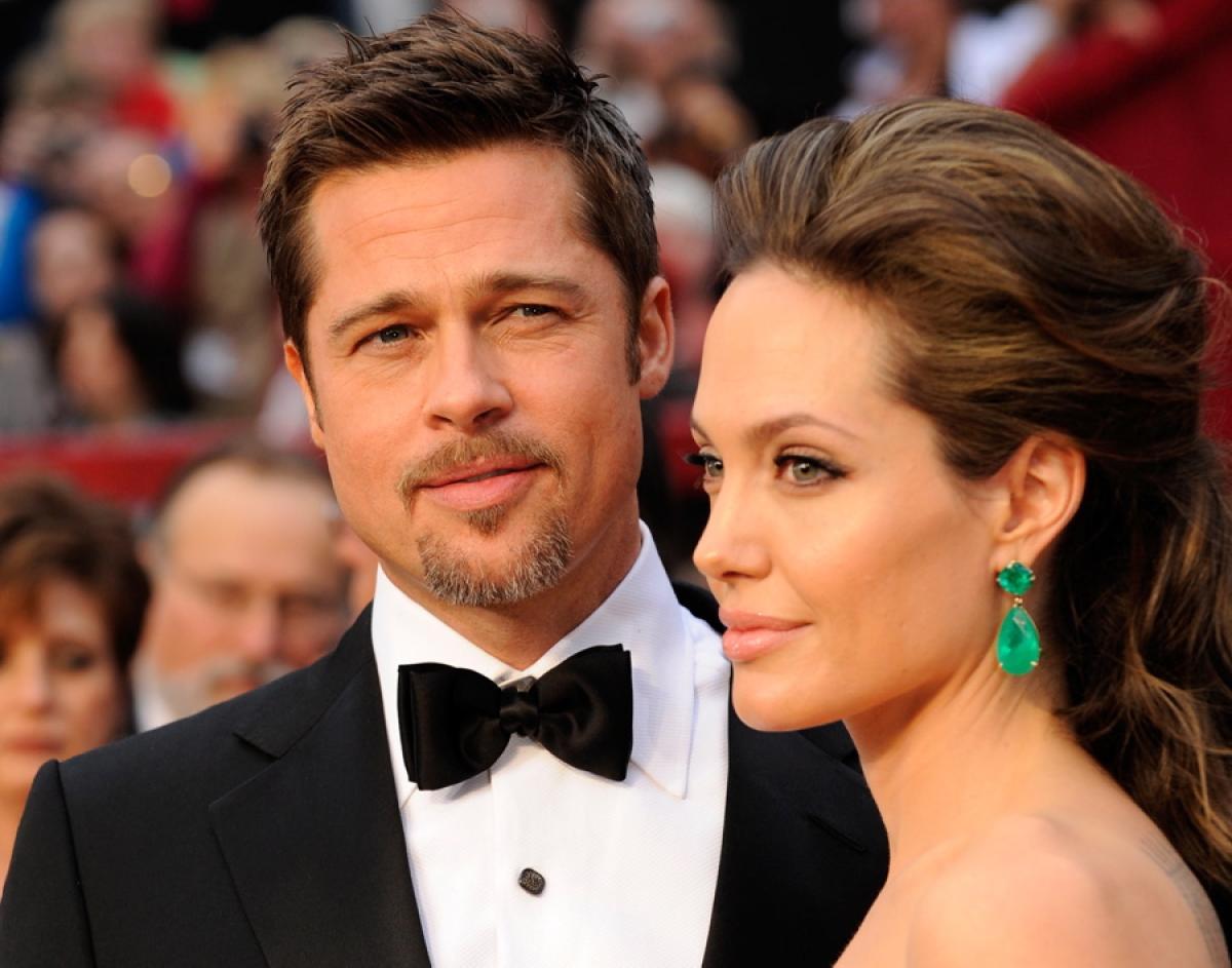 Angelina Jolie và Brad Pitt  lại vướng tin đồn ly hôn