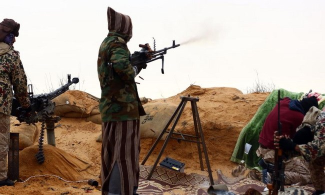 Khủng bố IS giao tranh với lực lượng Fajr Libya tại miền tây Lybia