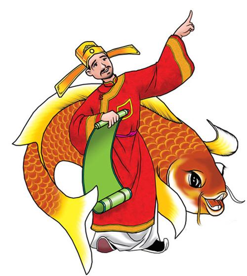 Ngày Tết ông Công ông Táo với tục phóng sinh cá chép