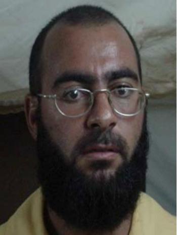 Bức ảnh của Abu Bakr al-Baghdadi trong hồ sơ tù nhân