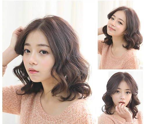 Các kiểu tóc đẹp được lòng các nàng phải kể đến kiểu tóc ngắn xoăn nhẹ
