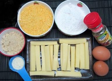 Cách làm phô mai que ngon như ngoài hàng với các nguyên liệu cơ bản