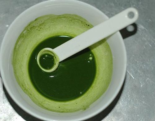Trà xanh giúp vị sữa chua thêm tươi mát, lạ miệng