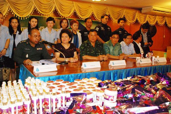 Cấm bán sản phẩm giảm cân OHO Slim Plus có chứa chất độc hại tại tỉnh Phitsanulok, Thái Lan