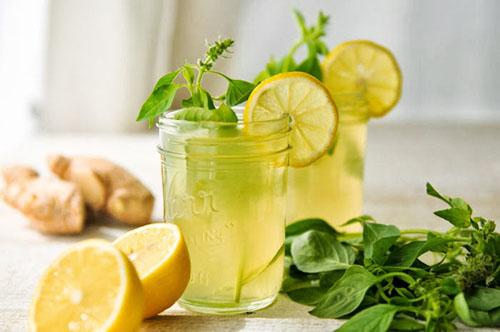Kết hợp chanh và gừng là phương pháp detox giảm cân đơn giản