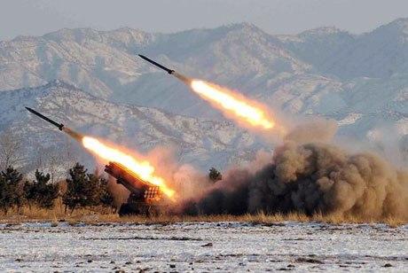 Tên lửa tầm xa Taepodong-1 là một trong những vũ khí hiện đại nhất của quân đội Triều Tiên