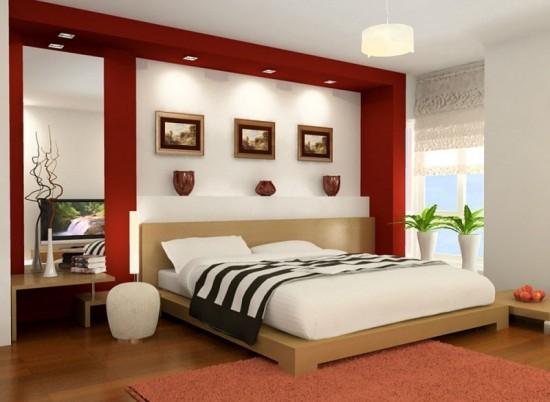 Bài trí giường ngủ theo phong thủy cũng như tạo không gian phòng ngủ lí tưởng