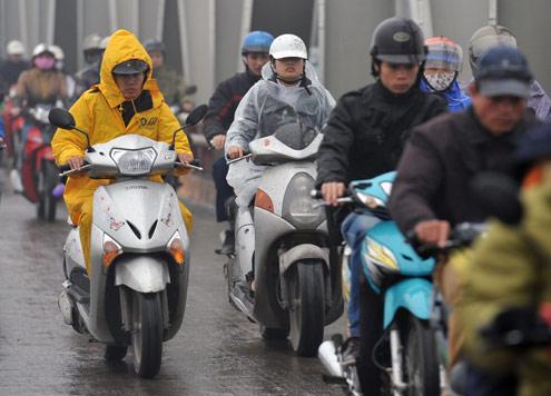 Dự báo thời tiết ngày mai 30/1/2015: Hà Nội và các tỉnh miền Bắc đón không khí lạnh tăng cường