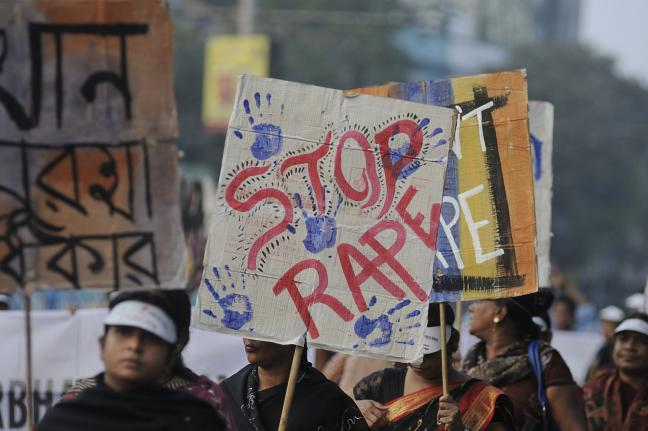 Biểu tình phản đối nạn cưỡng hiếp ở Ấn Độ