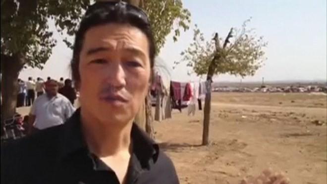 Phóng viên Nhật Bản Kenji Goto đang bị khủng bố IS giam giữ