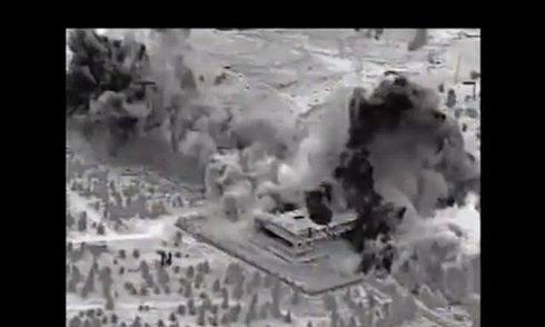Mục tiêu IS tan tành trong không kích