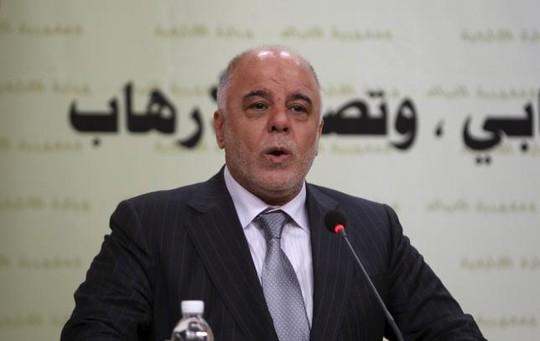 Thủ tướng Iraq Haidar al-Abadi tìm kiếm sự hỗ trợ vũ khí từ Mỹ