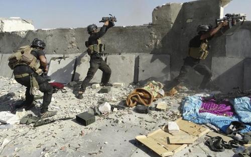 Đặc nhiệm Iraq đáp trả đợt tấn công của phiến quân IS tại thành phố Ramadi