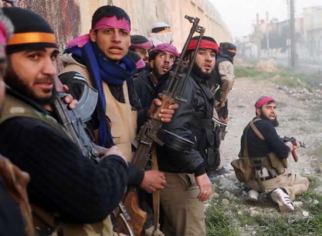 Người dân Syria chống khủng bố IS