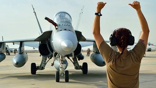 Chiến đấu cơ CF-18 của Canada ở Kuwait