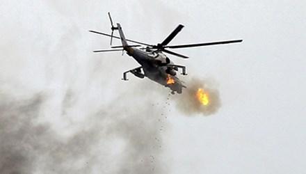 Trực thăng quân sự Ukraine rơi gần thủ đô