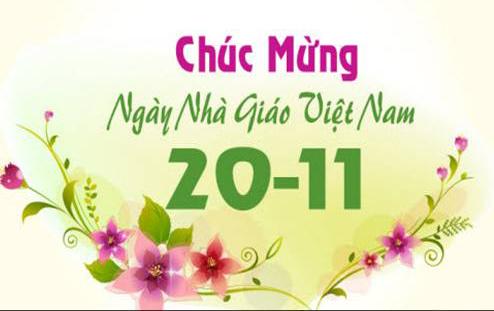 Bên cạnh những lời chúc, tấm thiệp thì những bài thơ, những lời chúc 20/11 cũng rất ý nghĩa trong ngày Nhà giáo Việt Nam