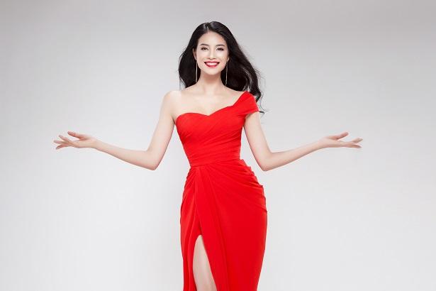 Nỗ lực giảm cân, đạt thân hình chuẩn của Phạm Hương tham gia Miss Universe