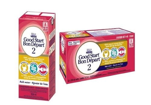 Sữa công thức Good Start 2 của Nestlé đang bị thu hồi trên thị trường theo những khiếu nại của người tiêu dùng