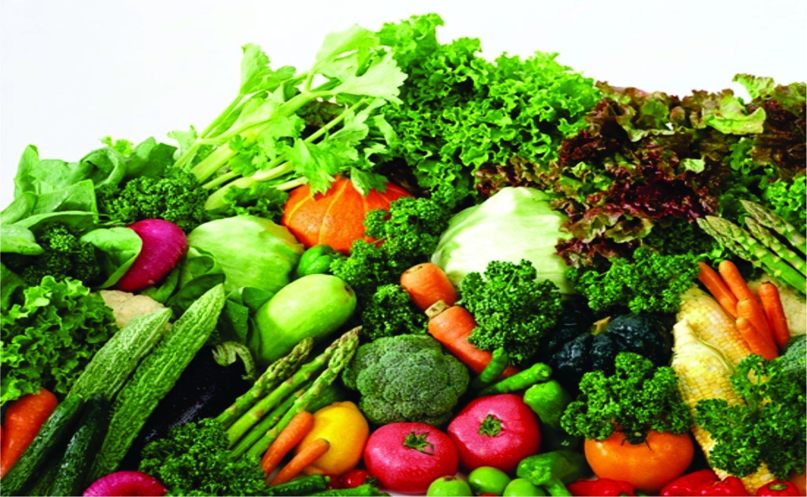 Các loại rau quả giàu chất xơ là thực phẩm tốt cho tuyến tiền liệt của nam giới